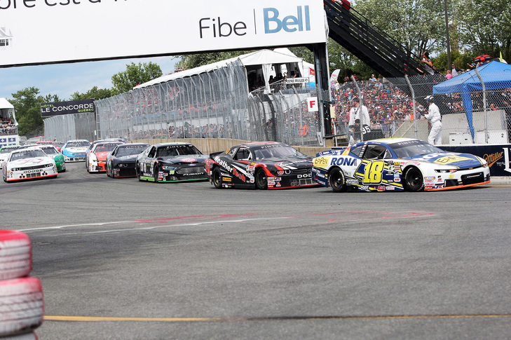 Alex leads the field at GP3R 50th Anniversary Race